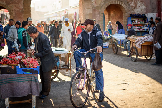 morocco-essaouira-campervan-market-bike