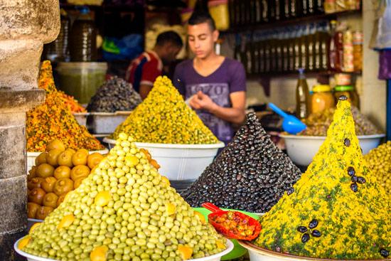 morocco-essaouira-campervan-olives-food-market