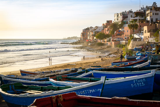 taghazout-morocco-by-campervan-beach-boats