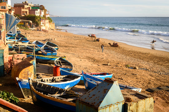 taghazout-morocco-by-campervan-beach