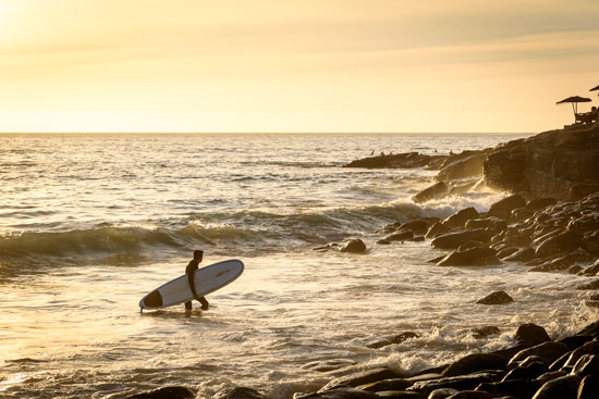 taghazout-morocco-by-campervan-surfer-sunset
