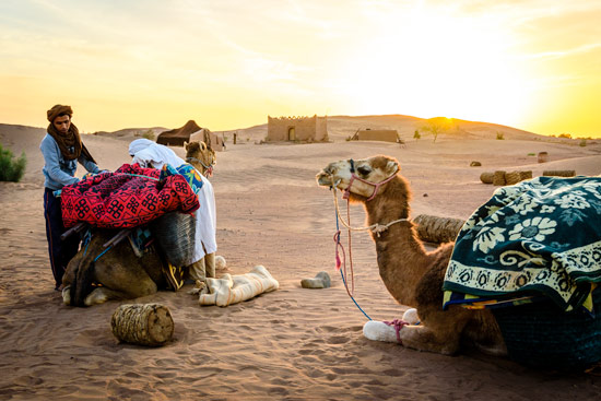 Morocco-by-campervan-desert