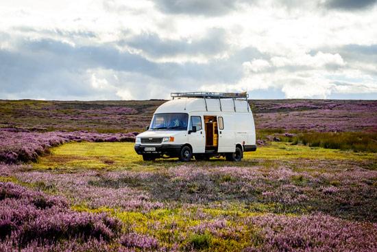 campervan-wildcamping-yorkshire-moors-camping