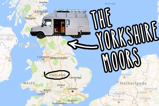 campervan-wildcamping-yorkshire-moors-map