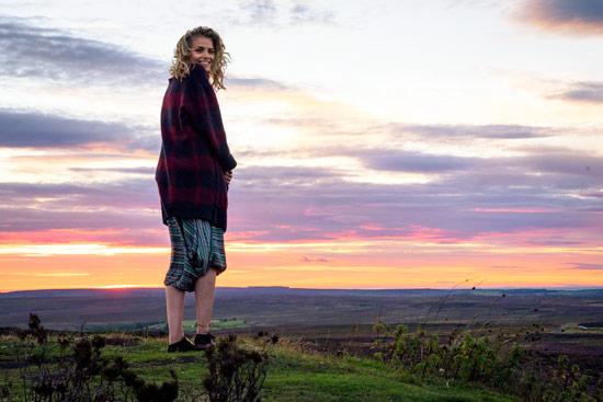 campervan-wildcamping-yorkshire-moors-sunset-sky-leah-shann