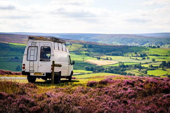 campervan-wildcamping-yorkshire-moors-view-dalby