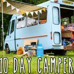 Van tour: the 10 day campervan