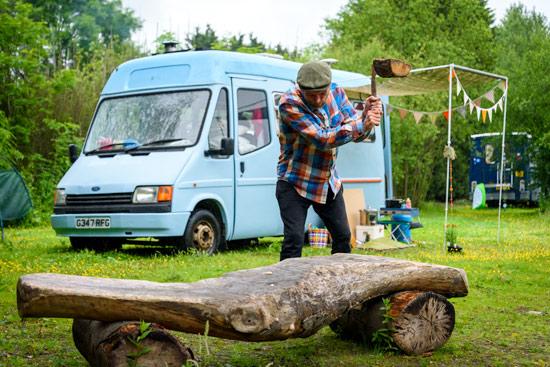 diy-campervan-conversion-budget-chop-wood