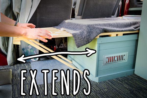 diy-campervan-ford-transit-extending-seat-bed