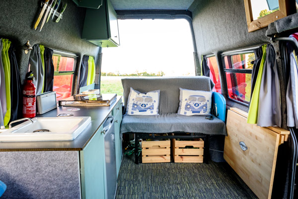 Van tour: Phil's DIY camper – but wait till you see the
