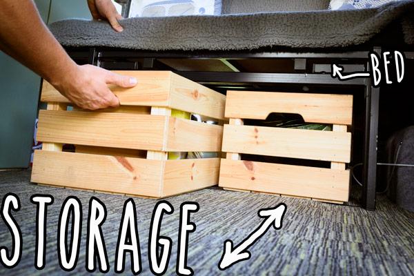 diy-campervan-ford-transit-storage-boxes
