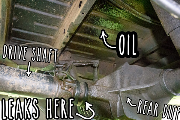 Van leaking oil  Parts not available  Here's how I spent the past 5