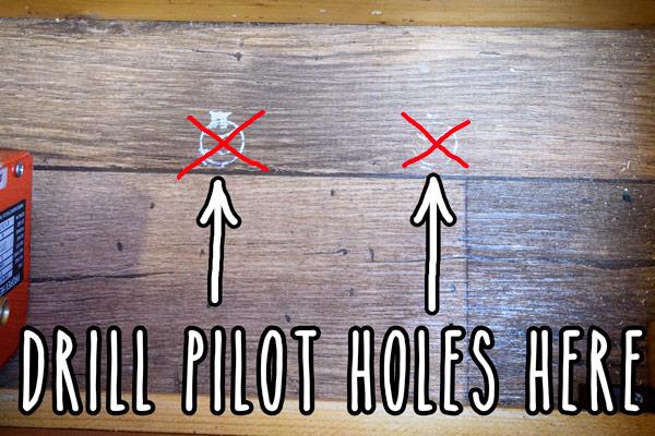 campervan-propex-heating-installation-pilot-holes