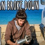 The van broke down – 3 days in a 3 minute video