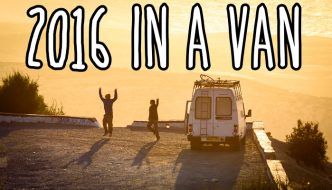 Living in a van and travelling – highlights of 2016 in 40 photos