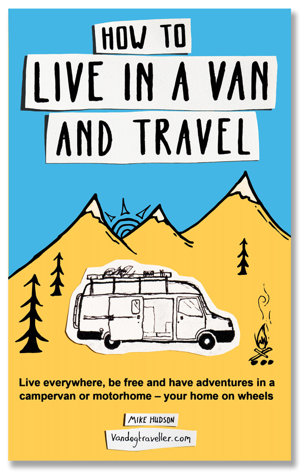 How to Live in a Van and Travel – book cover