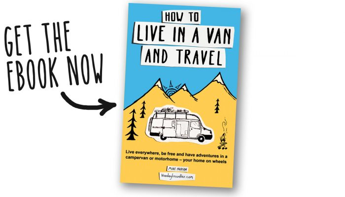 It's ready: How to Live in a Van and Travel – ebook available now!