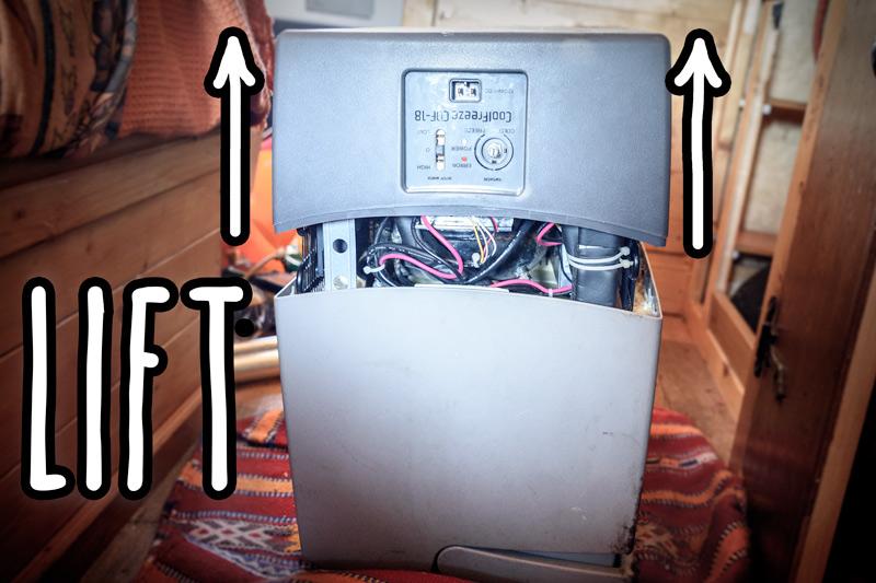 The fridge in my van broke  Here's how I fixed my Waeco CDF-18