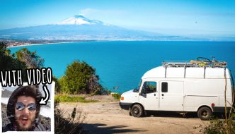 The biggest volcano in Europe – by campervan and foot – with video