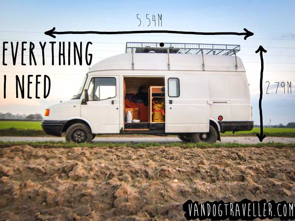 DIY campervan conversion