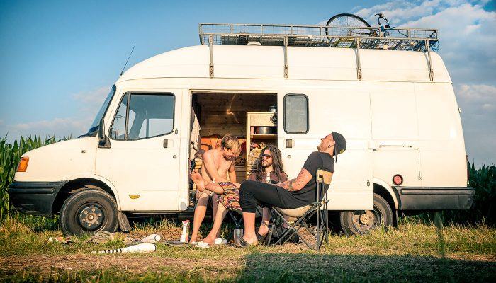 Living in a van and travelling – highlights of 2017 in 40 photos