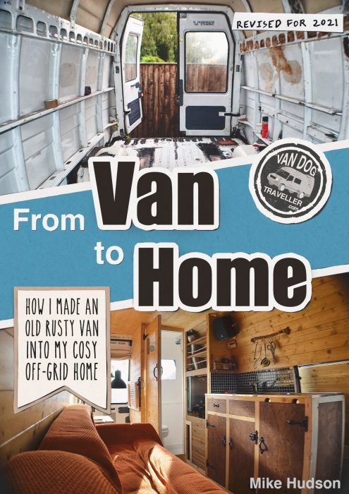 From Van to Home Van conversion guide ebook front cover